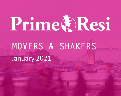 LonRes Movers and Shakers property recruitment round-up from PrimeResi January 2021 resources