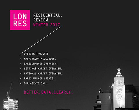LonRes Residential Review Q4 2016 - London Residenital Property Market