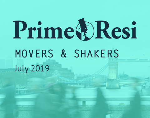 LonRes Movers and Shakers - PrimeResi July 2019 round-up property recruitment London