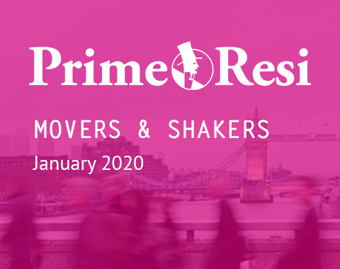 LonRes Movers and Shakers property recruitment round up from PrimeResi January 2020 resources