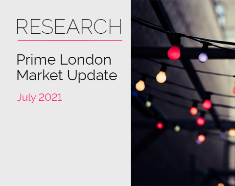 LonRes research: Prime London Market Update - July 2021 residential property market