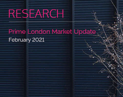LonRes research: Prime London Market Update - February 2021 residential property market