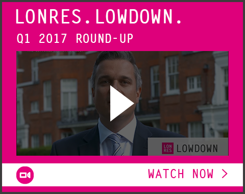 London sales and lettings residential property market Q1 2017