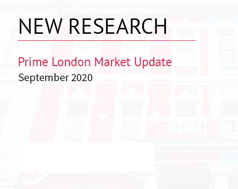 LonRes research: Prime London Market Update - September 2020 residential property market