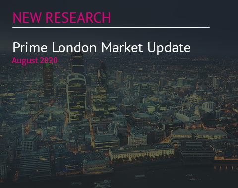 LonRes research: Prime London Market Update - August 2020 residential property market