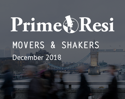 LonRes and Prime Resi Movers and Shakers - estate agency jobs and recruits in December 2018