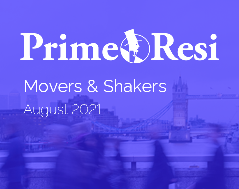 LonRes Movers and Shakers property recruitment round-up from PrimeResi August 2021 resources