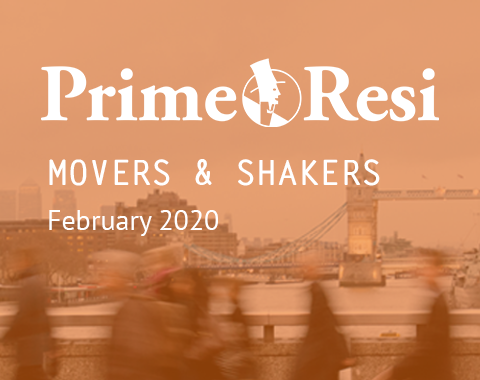 LonRes Movers and Shakers property recruitment round up from PrimeResi February 2020 resources