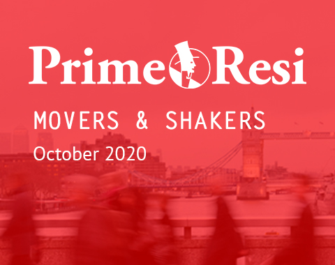 LonRes Movers and Shakers property recruitment round-up from PrimeResi October 2020 resources