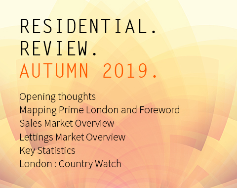 LonRes Residential Review - Autumn Q3 2019 property market analysis - London Property Market Report