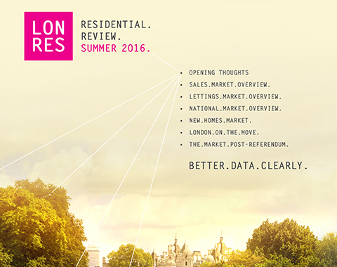 LonRes Residential Review Summer 2016 London Property Market