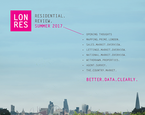 Free download: LonRes Residential Review Summer 2017 - an update on London property prices in Q2 2017