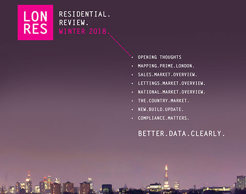 LonRes Residential Review 2018 - London and Country Property market Research