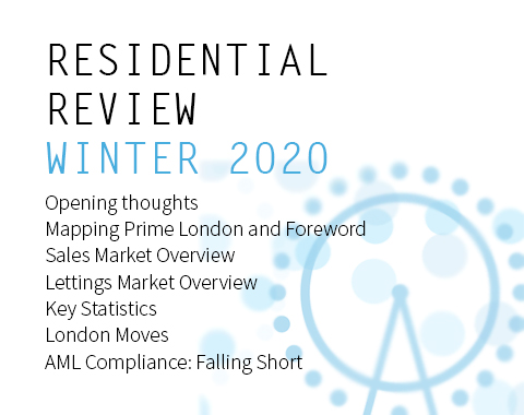 LonRes Residential Review - Winter 2020 London sales and lettings market performance