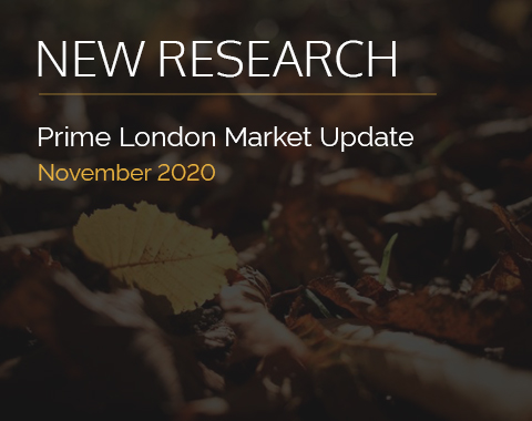 LonRes research: Prime London Market Update - November 2020 residential property market