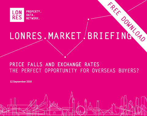 LonRes Market Briefing: Price Falls and Exchange Rates in prime central London