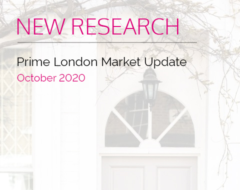 LonRes research: Prime London Market Update - October 2020 residential property market