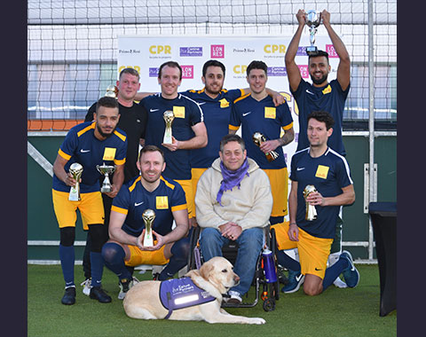 The CPR Cup Football Tournament 2019 with Collins Property Recruitment and supported by LonRes and PrimeResi in aid of Canine Partners LonRes subscribers