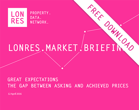 LonRes Market Briefing: Price Reductions London Residential Property Market